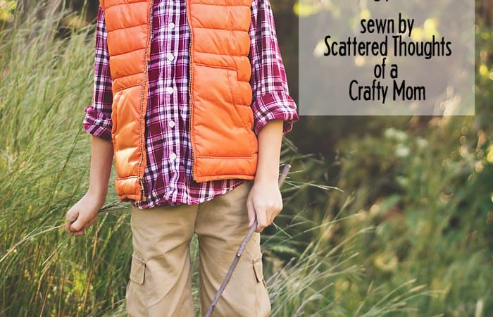Belted Cargo Pants Pattern (Win this pattern!)
