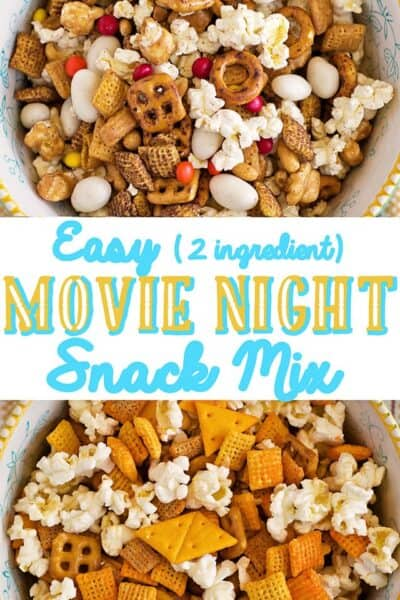 Easy Movie Night Snack Mix