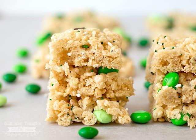 St. Patrick's Rice Krispy Treats
