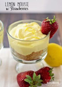 Lemon-mousse-strawberries-1