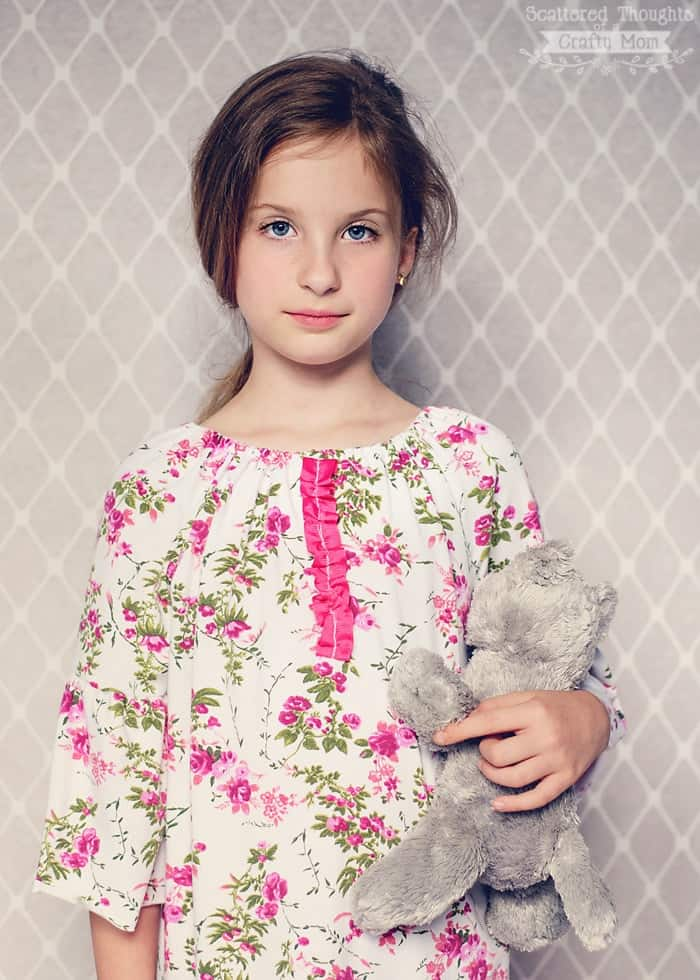 free nightgown pattern