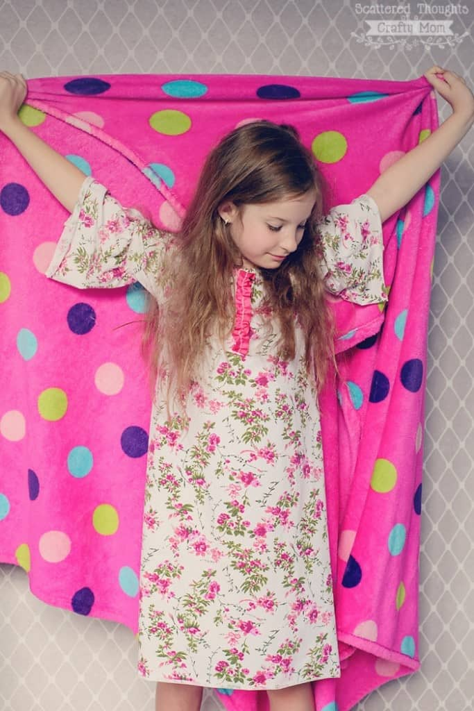 How to sew a nightgown