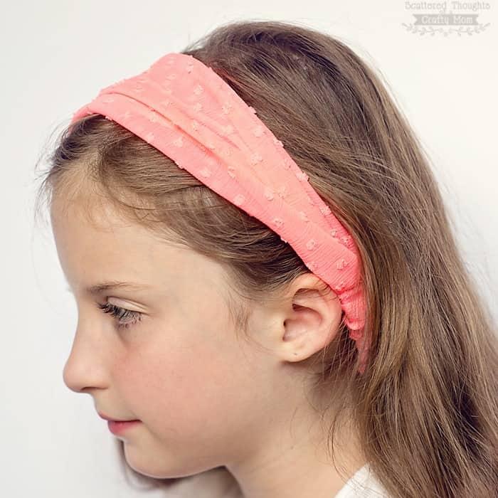 how to sew a headband