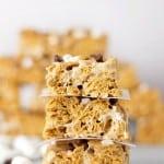 Golden Graham Rice Krispies Treats