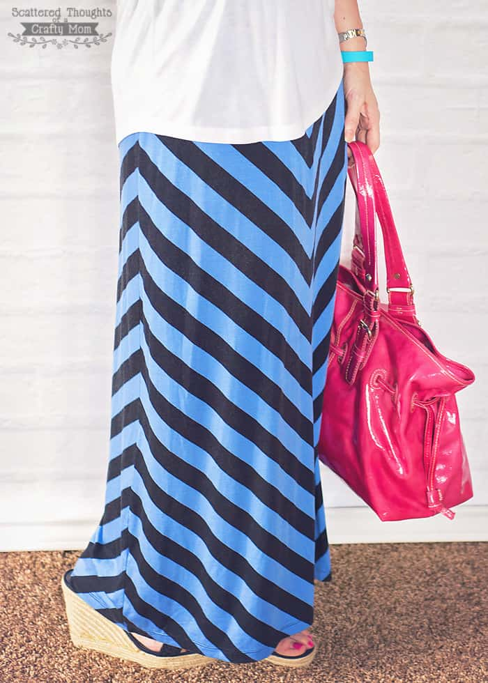 How to Make a Maxi Skirt from a Maxi Dress