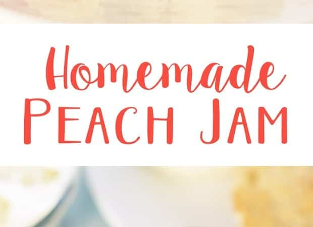 Easy Homemade Peach Jam Recipe (No Pectin)