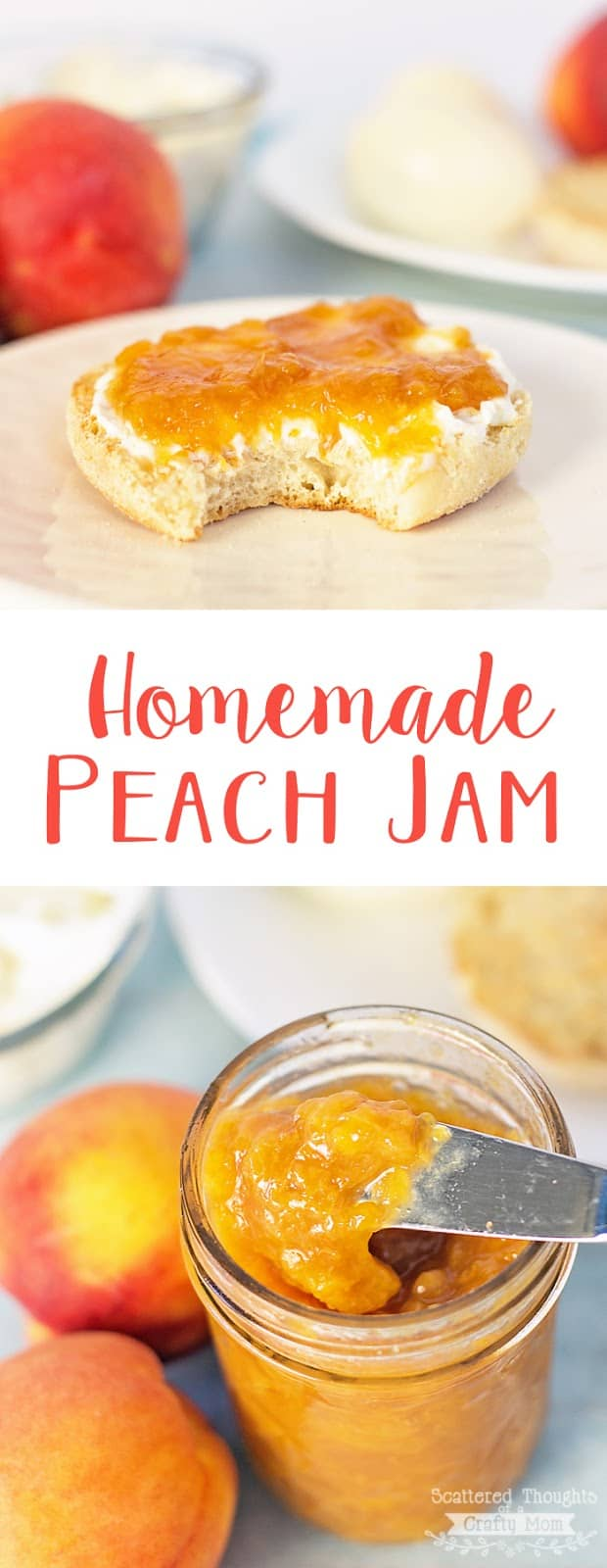 Easy homemade peach jam recipe no pectin scattered for Peach preserves no pectin