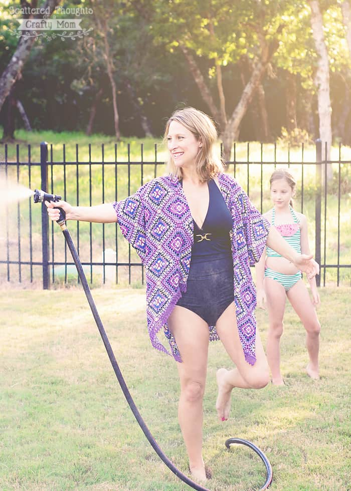 free swim suit cover up pattern