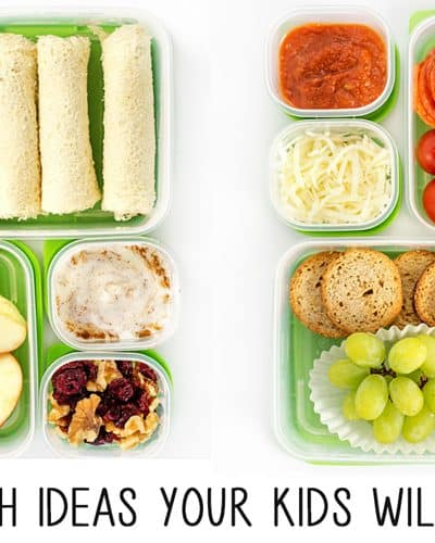 5 School Lunch Ideas to Make Your Kids Smile!
