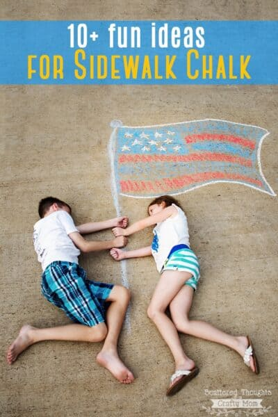 Get Creative: 10+ Fun Sidewalk Chalk Ideas!
