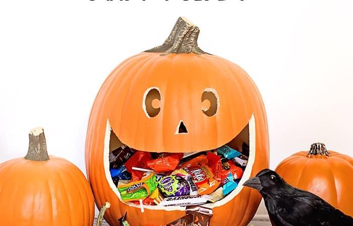 DIY Spooktacular Halloween Candy Holder