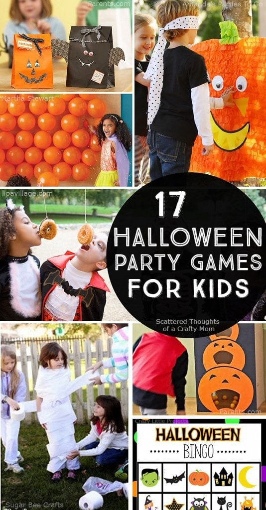 Need ideas for Halloween Games for kids? Time to crank the fun with these 17 Halloween Party Games for Kids.