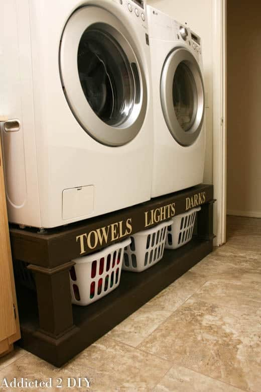 10 Storage Ideas For Small Laundry Rooms Scattered