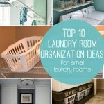 10 Storage Ideas for Small Laundry Rooms