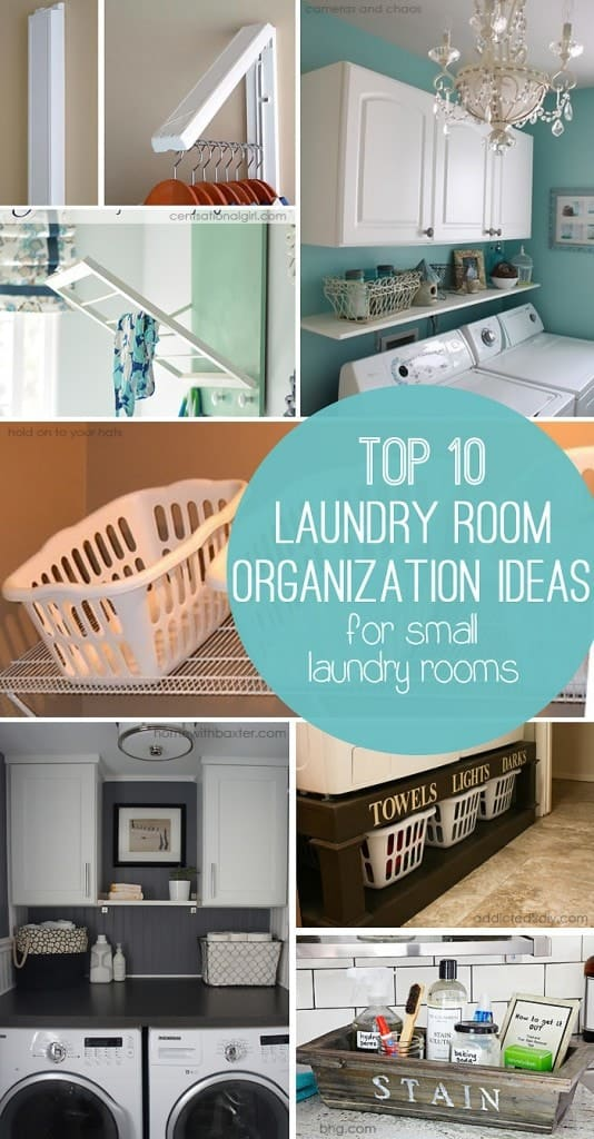 Top Ten Storage Ideas for Small Laundry Rooms
