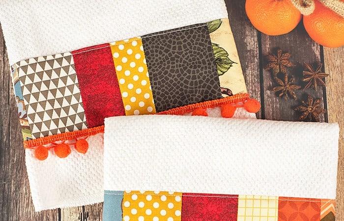 DIY Decorative Tea Towels