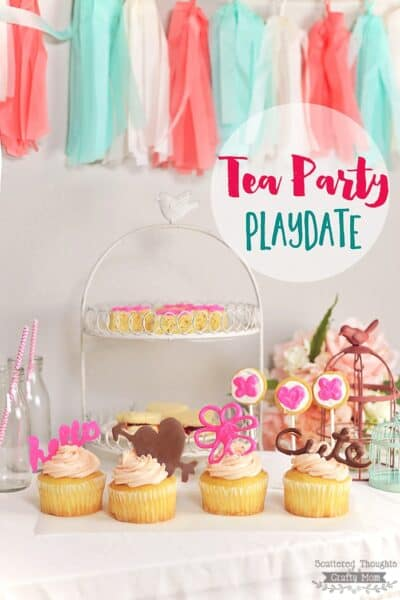How to Decorate Treats for the Perfect Tea Party Play Date