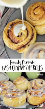 Sleeping In and Freshly Baked Cinnamon Rolls: the perfect combination!