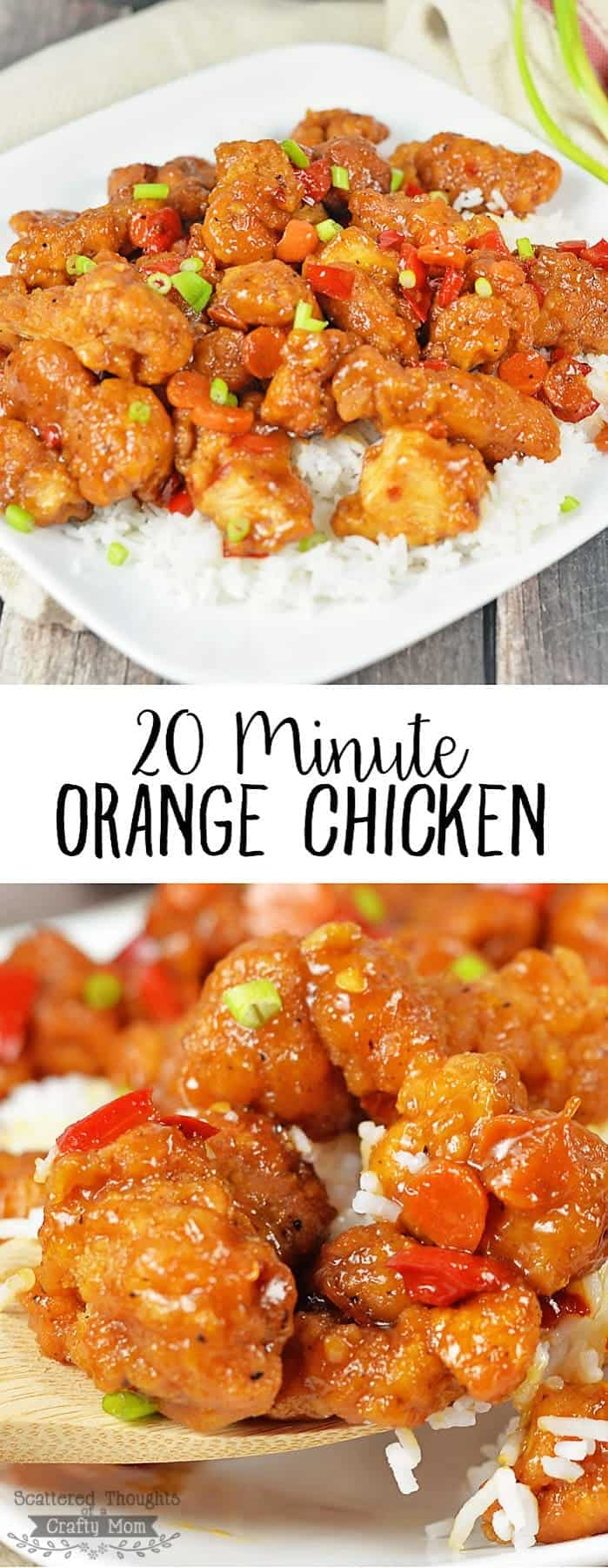 20 Minute Orange Chicken Recipe