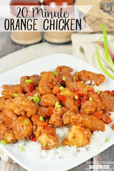 Quick Orange Chicken