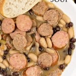 Easy Sausage and Bean Soup (plus a giveaway!)