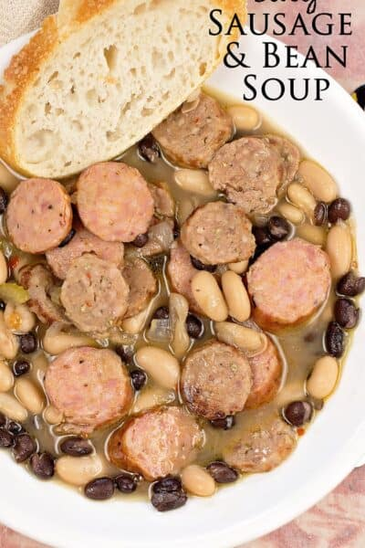 Easy Sausage and Bean Soup