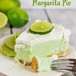 Boozy (or not) Frozen Margarita Pie Recipe