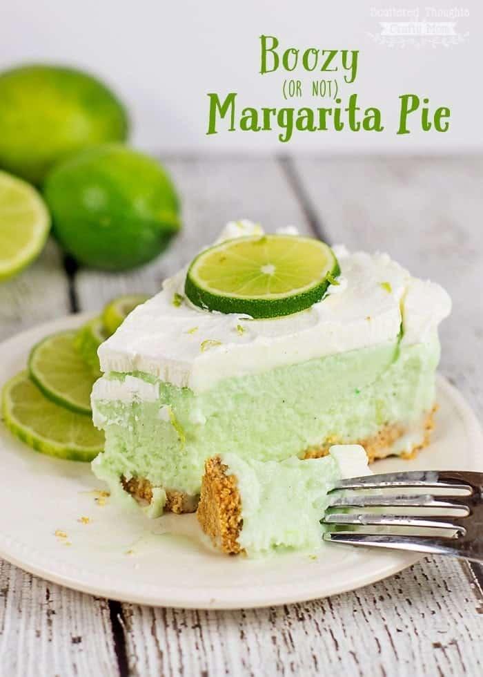 Easy Frozen Margarita Pie Recipe