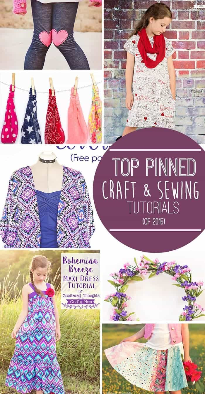 Top Tutorials Youtube: Top Sewing And Craft Posts Of 2015