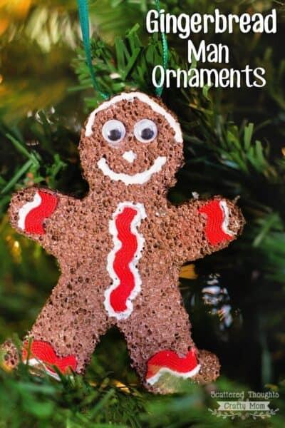 Gingerbread Man Ornaments