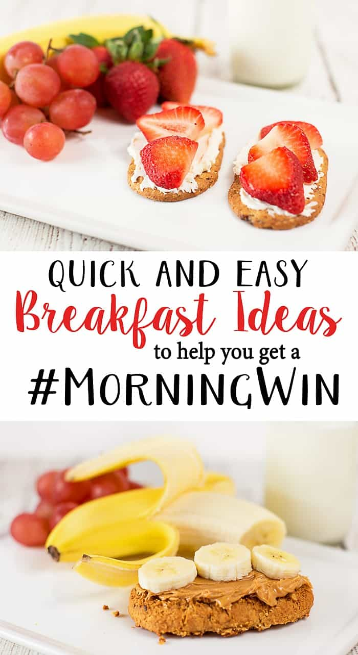 Grab and Go Quick Breakfast Ideas to Help You get a Morning Win!