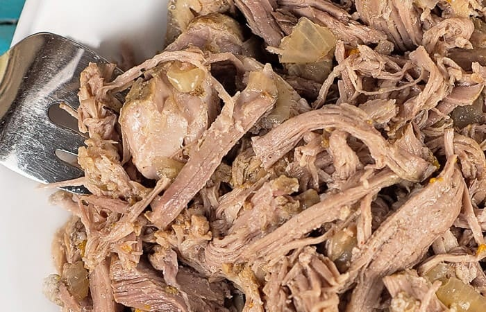 Beer Marinated Slow Cooker Pulled Pork Recipe