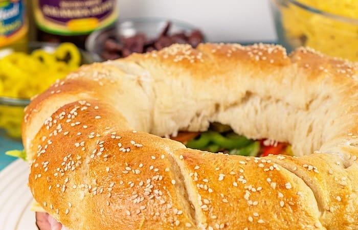 """DIY Sub """"your-way"""" Sandwich Ring"""