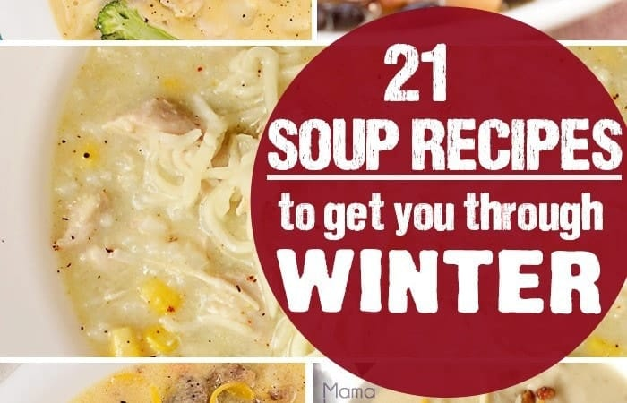 Soup archives scattered thoughts of a crafty mom for Winter soup recipes easy