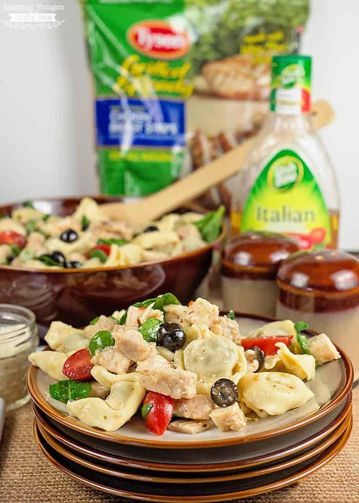 easy pasta salad for potlucks