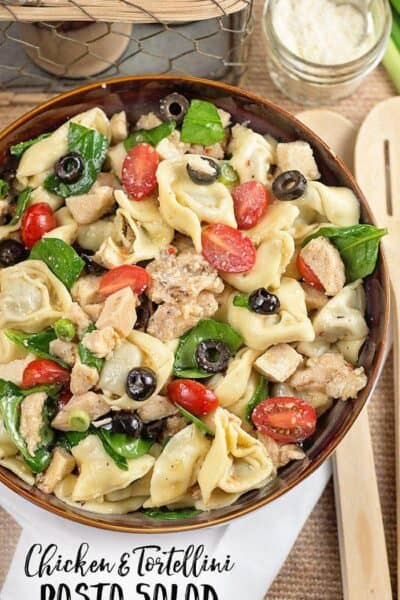 Chicken and Tortellini Pasta Salad