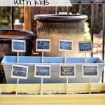 How to make an Easy Container Garden with Kids.
