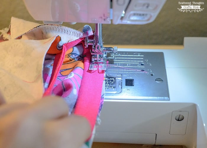 how to sew binding on a t-shirt- free pattern
