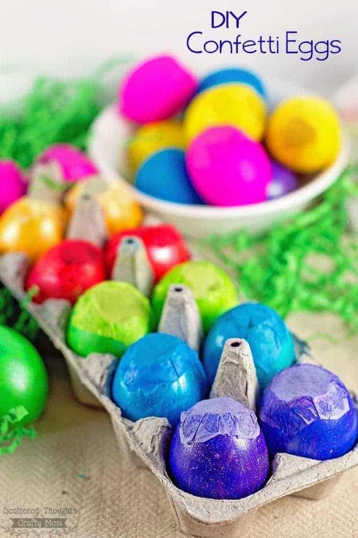DIY confetti eggs: How to make confetti eggs