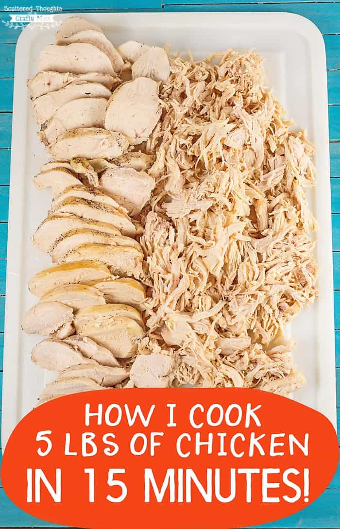 how to cook chicken in induction cooker