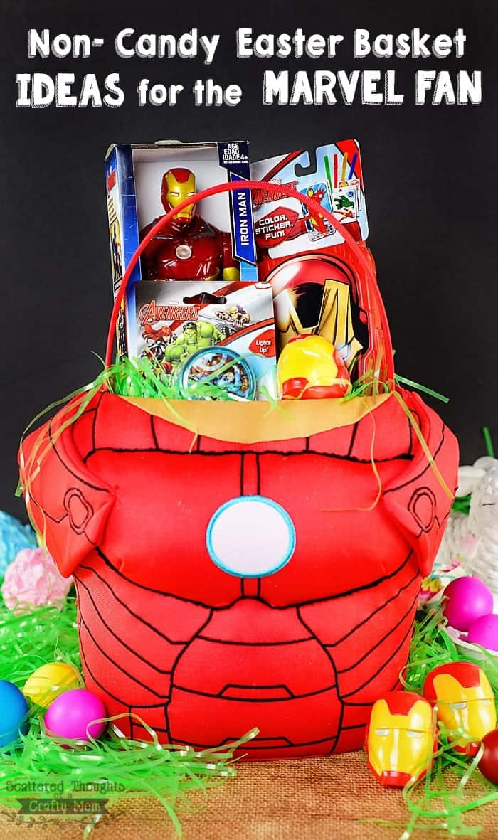 Non Candy Easter Basket Ideas for Boys!