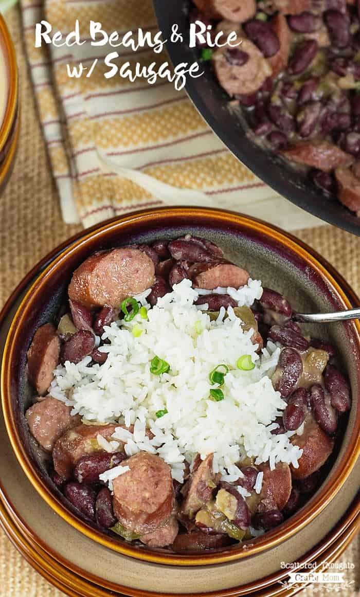 Red Beans and Rice Sausage Skillet Recipe