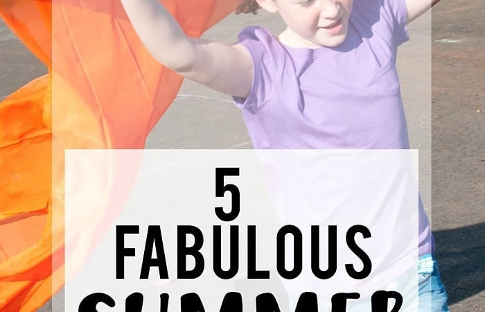 """5 Summer Activities for Kids (how to cure """"I'm Bored-itis"""")"""
