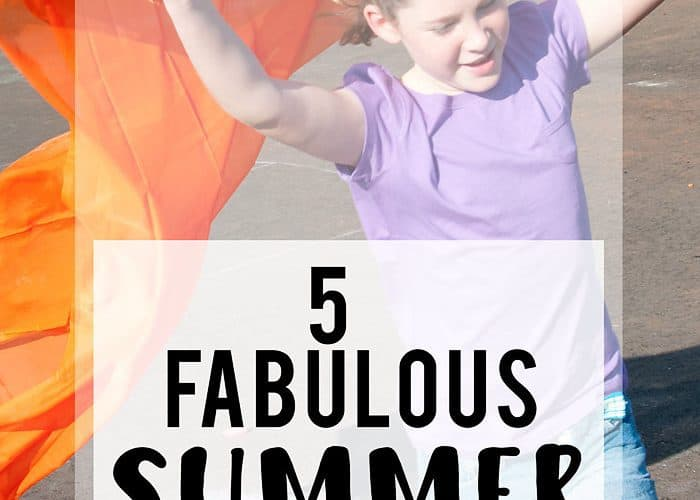 "5 Summer Activities for Kids (how to cure ""I'm Bored-itis"")"