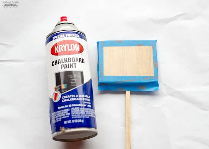 paint i recommend the brush on chalkboard paint over the spray paint. Black Bedroom Furniture Sets. Home Design Ideas