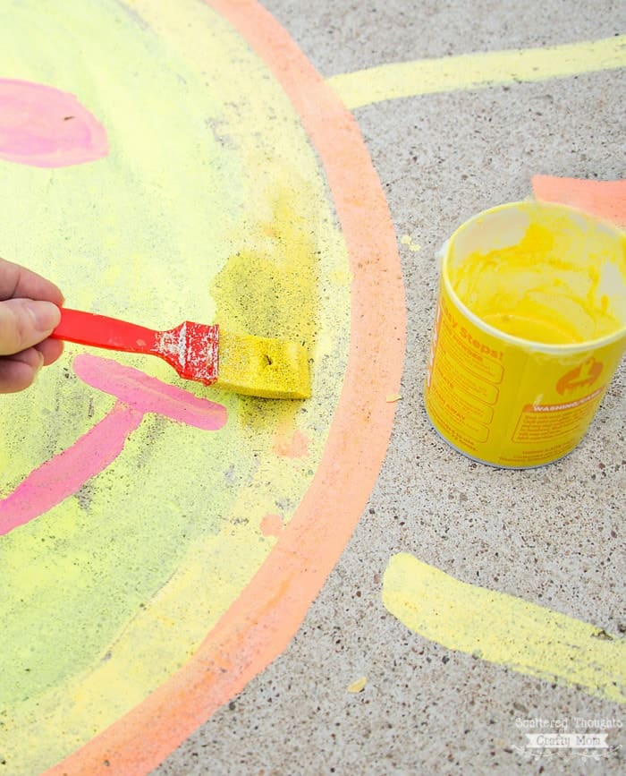 chalk art ideas