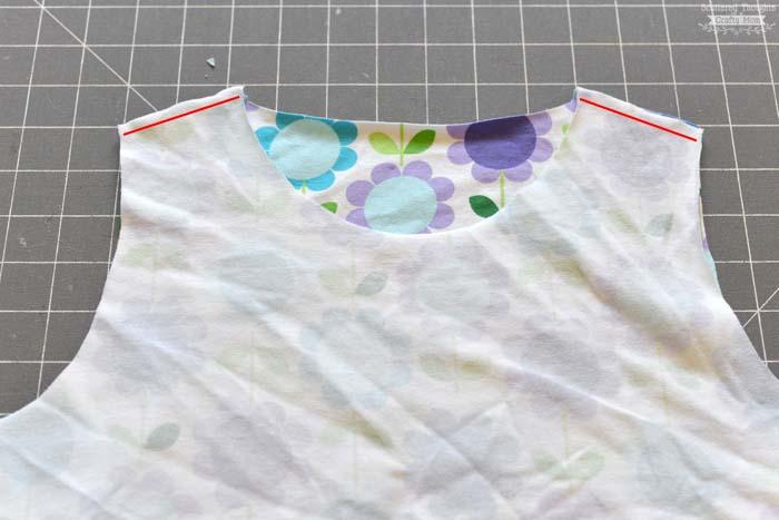 flutter sleeve t-shirt tutorial