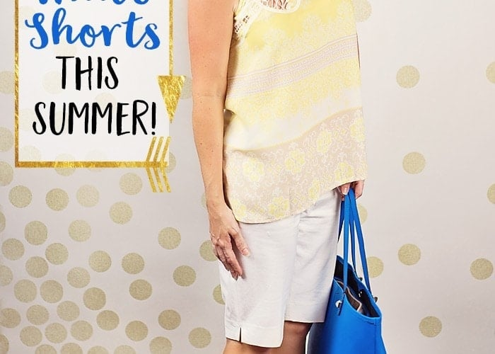 5 Ways to Wear White Shorts this Summer!