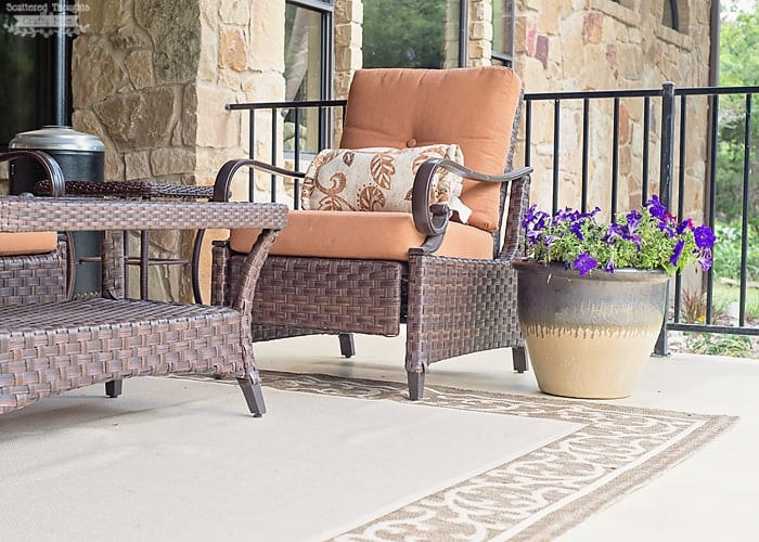 How To Clean Outdoor Upholstered Furniture Tered