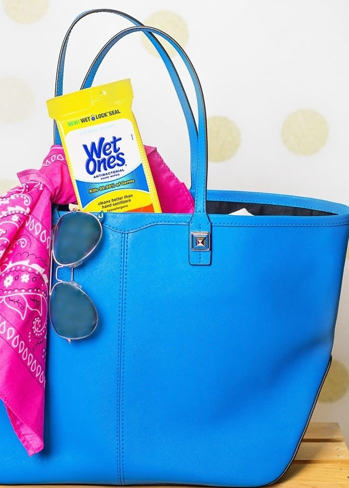 Stay Prepared this Summer with Wet Ones® Hand Wipes!
